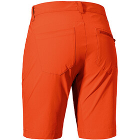 Schöffel Toblach2 Pantalones cortos Mujer, mandarin red
